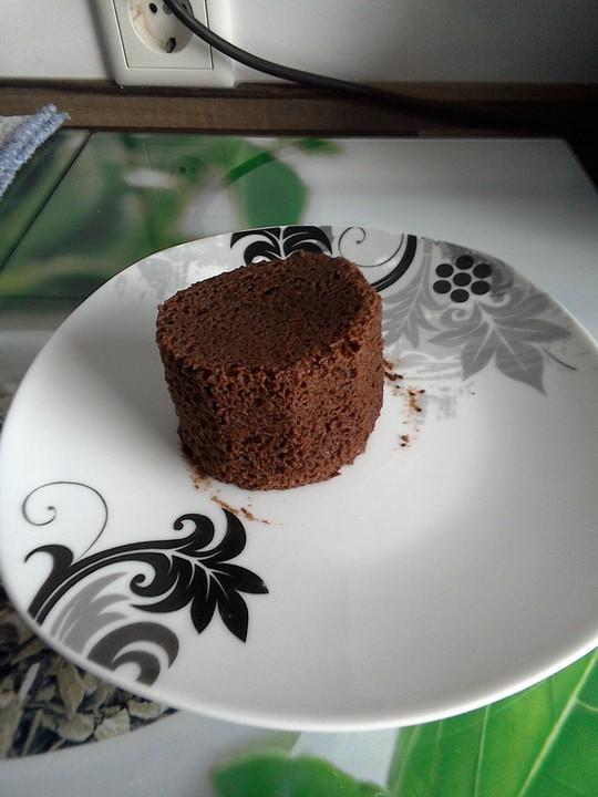 Low Carb Schoko Tassenkuchen Aus Der Mikrowelle Von Jolli Chan