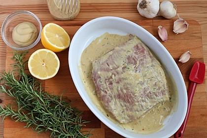 Senfmarinade für Steaks (Bild)