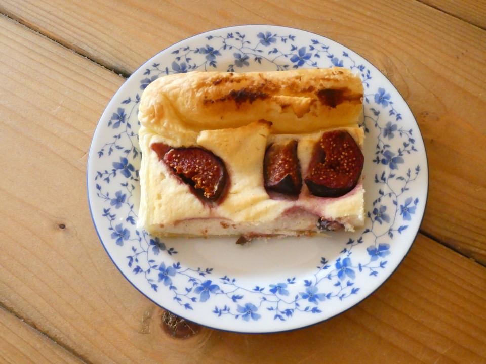 Feigen Ricotta Kuchen Vom Blech Von Ansiro11 Chefkoch De