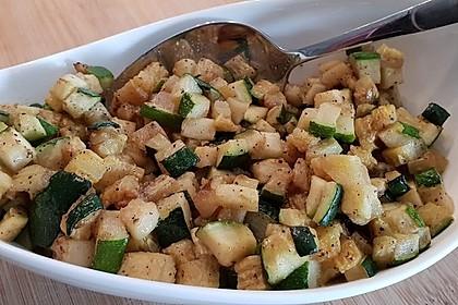 Feine Zucchini mit Knoblauch