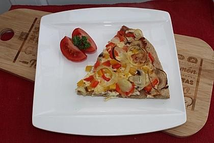 Italienischer Pizzateig mit Hartweizengrieß 1