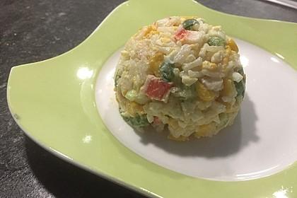 Russischer Surimi-Salat