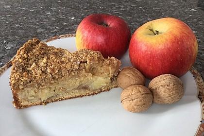 Walnuss-Apfel-Kuchen à la Mamaela 1