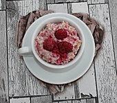 Erdbeer-Himbeer-Porridge (Bild)