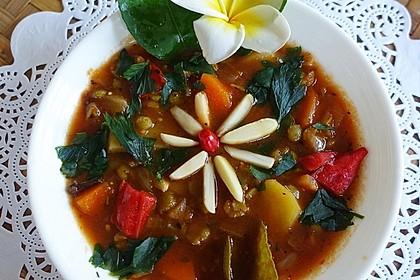 """Balinesische grüne Linsensuppe """"Legian"""""""