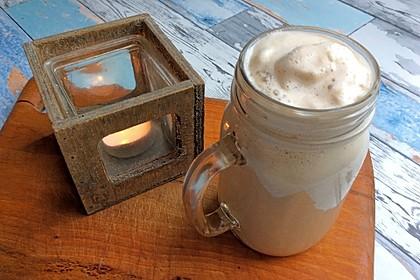 Schnelle vegane Chai-Latte