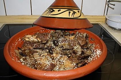 Rinderbeinscheiben, marokkanisch