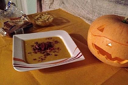 Kürbis-Mais-Suppe (Bild)