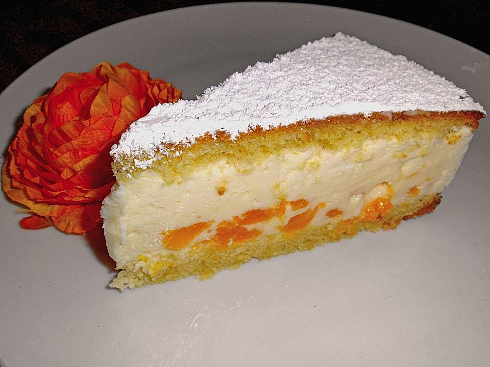 Kasesahne Mit Mandarinen Von Spiky1309 Chefkoch De