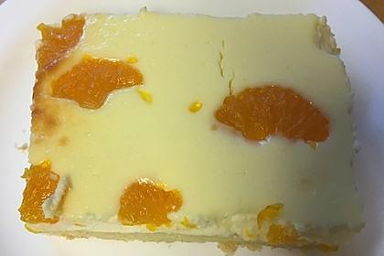 Quark - Mandarinen - Blechkuchen 10