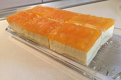 Quark - Mandarinen - Blechkuchen 1