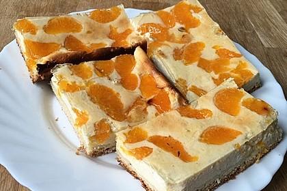 Quark - Mandarinen - Blechkuchen 4