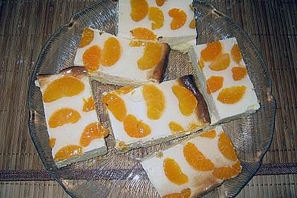 Quark - Mandarinen - Blechkuchen 16