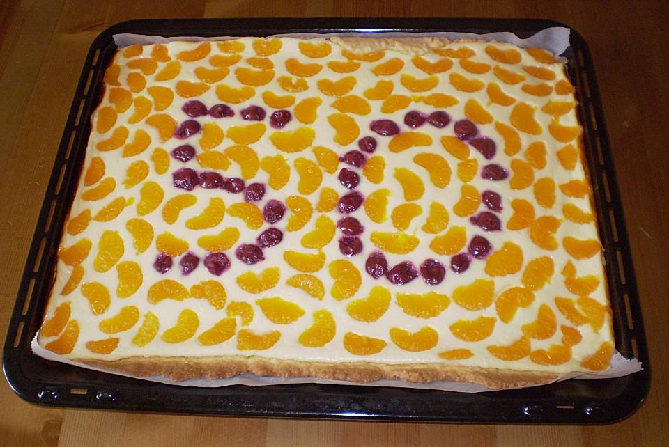 Quark Mandarinen Blechkuchen Von Sonne06 Chefkoch De