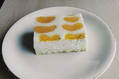 Quark - Mandarinen - Blechkuchen 6