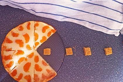 Quark - Mandarinen - Blechkuchen 5