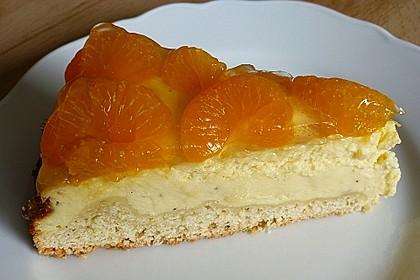 Quark - Mandarinen - Blechkuchen 14