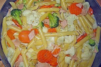 Nudel - Gemüse - Pfanne 22