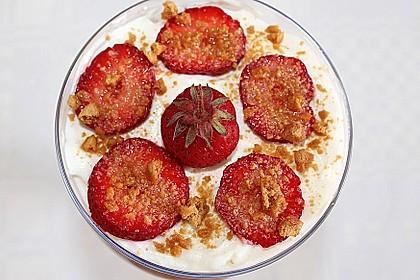 Erdbeer-Pfirsich Tiramisu 1