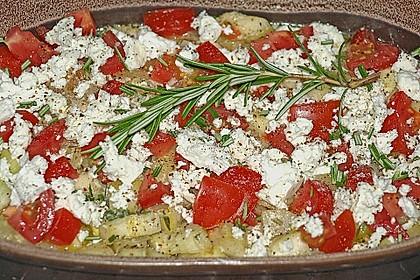 Zucchini - Schafskäse - Pfanne 9