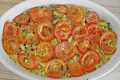 Zucchini - Schafskäse - Pfanne 19