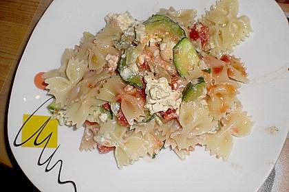 Zucchini - Schafskäse - Pfanne 20