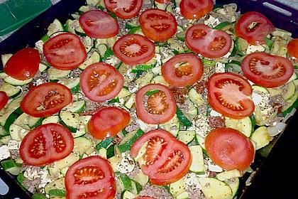 Zucchini - Schafskäse - Pfanne 21
