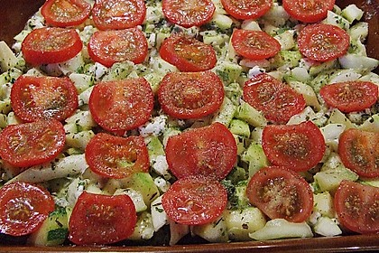 Zucchini - Schafskäse - Pfanne 11