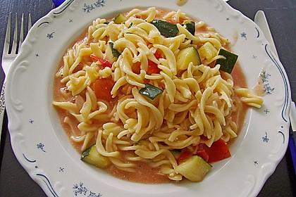 Zucchini - Schafskäse - Pfanne 2
