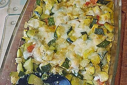 Zucchini - Schafskäse - Pfanne 10