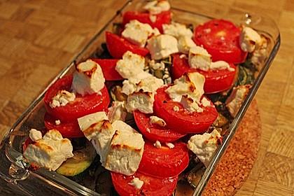 Zucchini - Schafskäse - Pfanne 1