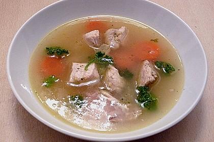 Hühnersuppe mit Reis 16