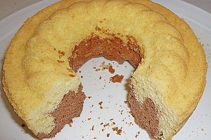 Kalorienarmer Marmorkuchen
