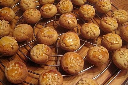 Marzipan - Plätzchen (Bild)