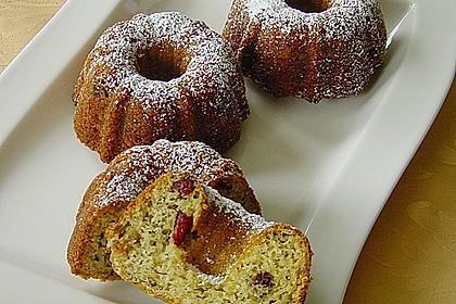 Preiselbeer - Walnuss - Muffins 1