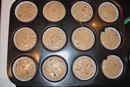 Preiselbeer - Walnuss - Muffins 10
