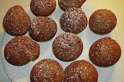 Preiselbeer - Walnuss - Muffins 12