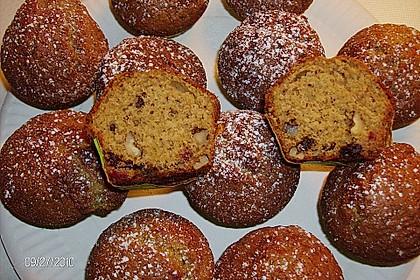 Preiselbeer - Walnuss - Muffins 5