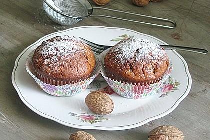 Preiselbeer - Walnuss - Muffins 6