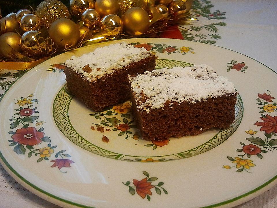 rezept lebkuchen weich saftig