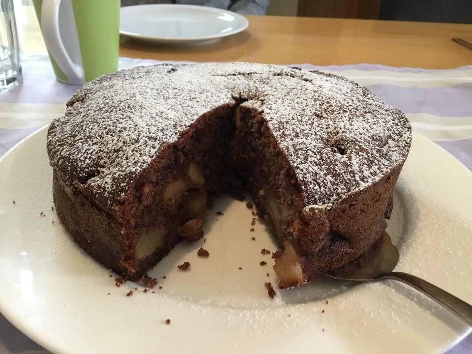 Russischer Apfelkuchen für eine kleine Form von Lari | Chefkoch
