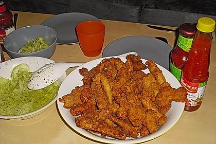 Fried Chicken mit Panade 1