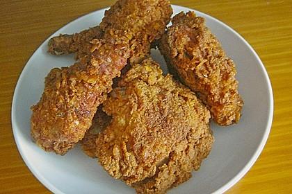 Fried Chicken mit Panade 2