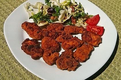 Fried Chicken mit Panade