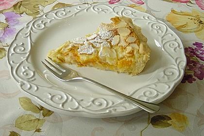 Aprikosenkuchen mit Mandelguss 12