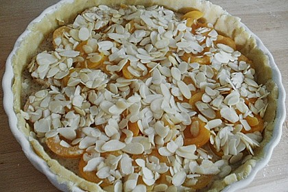 Aprikosenkuchen mit Mandelguss 13