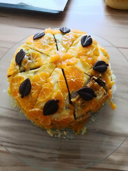 Schoko Orangen Torte Von Hasieh Chefkoch De