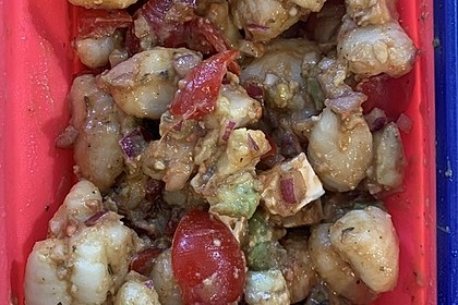 Gnocchi-Avocado-Tomaten-Salat
