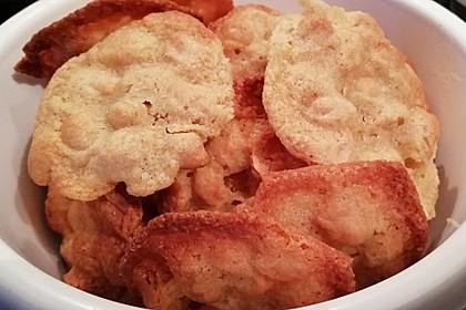 Schnelle Erdnuss-Knusperkekse (Bild)