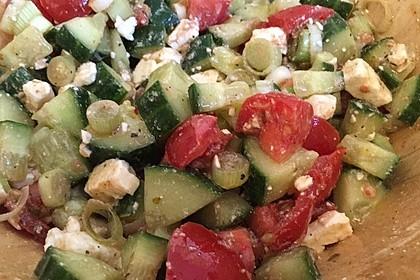 Fast griechischer Bauernsalat 3